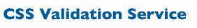 CSS Validation Service